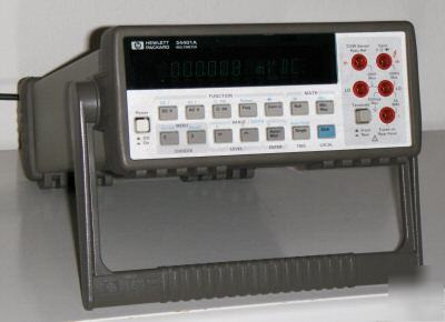 hp agilent 34401a multimeter with hp ib manual rh chicagopartsnetwork com Agilent 34401A DMM Images of Multimeters DMM