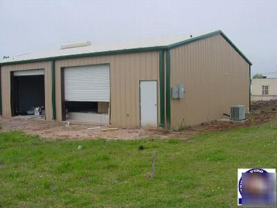 40 X 50 Steel Building http://www.chicagopartsnetwork.com/By-County-/Will-County-/Woodworking-Machine-Parts-/New-amerduro-steel-building-40X50X16-metal-buildings.ASPX
