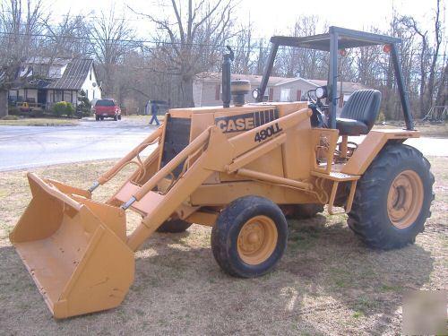 Used Case Backhoe Parts Case : Good used case ll loader tractor