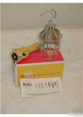 Mcgill grounded industrial extension light kit