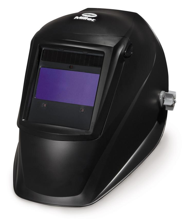 Miller performance series black welding helmet