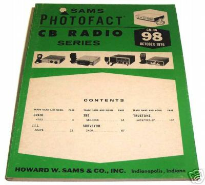 Sams photofact cb 98 october 1976 cb radio series for Lloyds motors jamestown nd