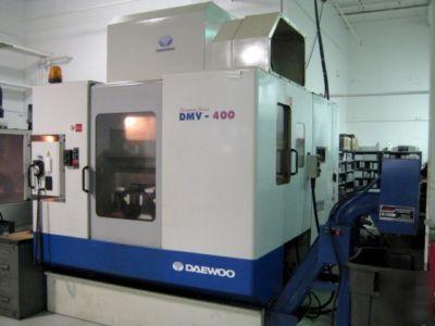 Daewoo Dmv 400 Vertical Machining Center Apc Rigid Tap