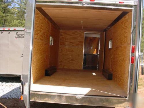 8 5x28 Haulmark Enclosed Cargo Office Trailer