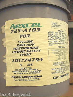 Aexcel Waterborne Fast Dry Traffic Safety Paint Yel Red