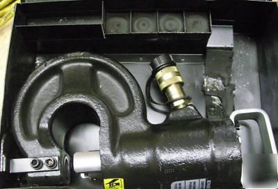 Electric Hydraulic Pump >> T&b hydraulic pump 13600 10K psi w/ enerpac sp-35 punch