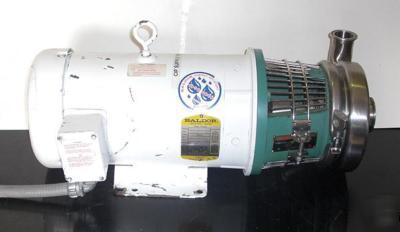 Baldor industrial motor cwdm3616t with tri flow pump Baldor industrial motor pump