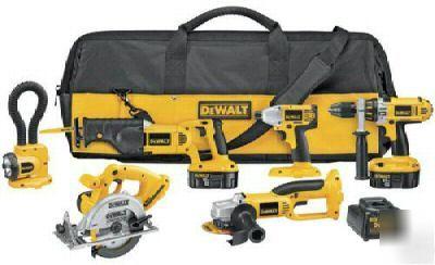 New Brand Dewalt Dc6pakia 18v Combo Kit