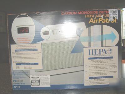 New Holmes Carbon Monoxide Detector Amp Hepa Air Purifier