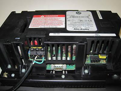 Allen bradley 2711-B6C8 panelview 600 interface