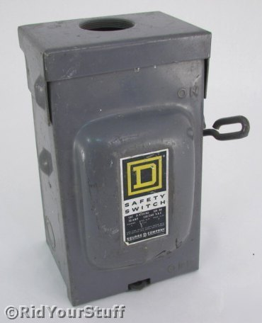 used safety switch 30 small fuse box