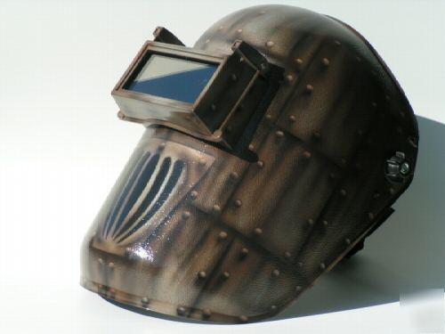 Airbrushed Welding Helmet Antique Vintage Ing