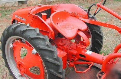 Allis Chalmers G Tractor With 48 Inch Bush Hog Rare