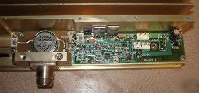 Solid state uhf/rf 200W power amplifier, 900 mhz, sale