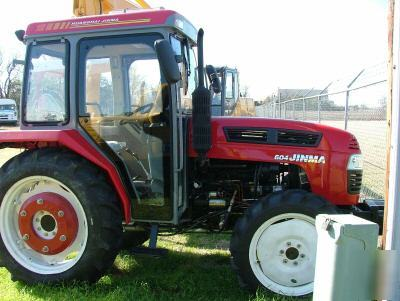 New jinma 60 hp 4WD tractor with cab & a/c & heat