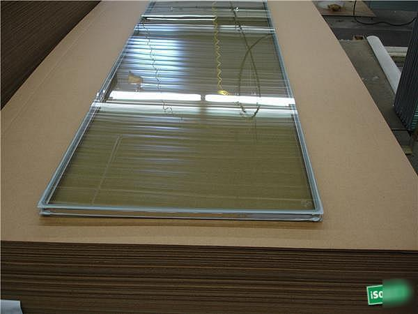 Lot cardinal tempered insulated patio door glass panels