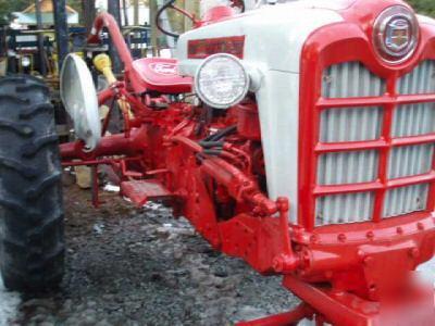 1960 Ford 971 Diesel Row Crop Tractor