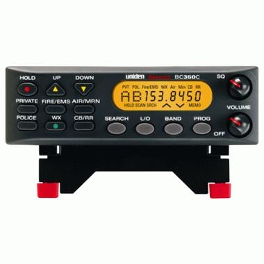 Uniden/bearcat- 100-channel programmable mobile scanner
