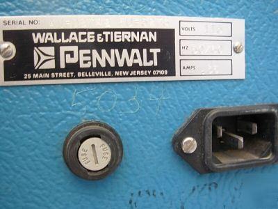 Wallace Tiernan Electro Pneumatic Calibrator 65 125