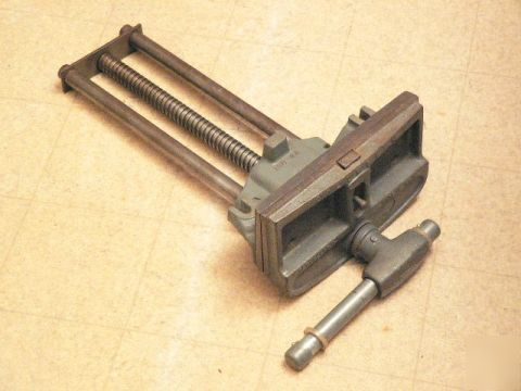 Vintage Columbian Woodworker S Vise Usa Quick Release
