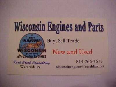 Wisconsin engine piston & rings VH4D, W4-1770,VF4D  010