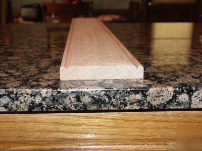 4 1 2 Inch Beaded Red Oak Chair Rail Moulding Molding