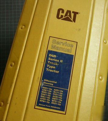 Cat caterpillar D6R dozer crawler service manual repair