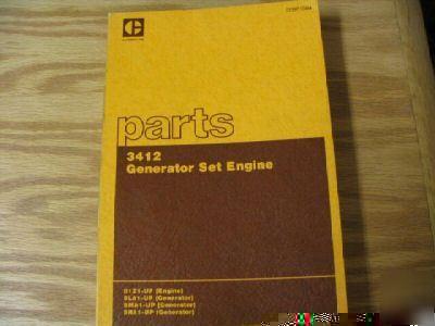 caterpillar 3412 engine generator set parts manual rh chicagopartsnetwork com caterpillar 3412 dita generator manual caterpillar generator model 3412 manual