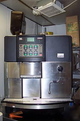 2 acorto fully automatic espresso machines 2000S