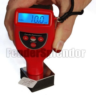 FS502 mil thickness gauge powder coating milgage meter