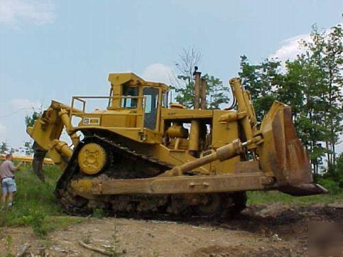 Caterpillar cat D10 high track dirt rock crawler dozer