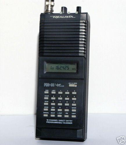 Radio Shack Pro Scanner Realistic