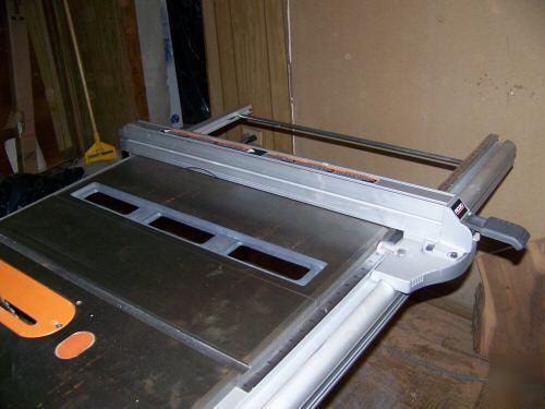 Ridgid Table Saw Ts3650