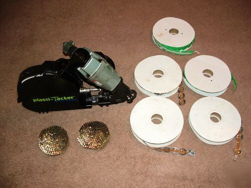 Hitachi Nv50ap2 Coil Roofing Nailer Plasti Tacker Plus