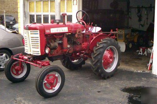 Farmall 130 Tractor : Farmall ih international harvester tractor