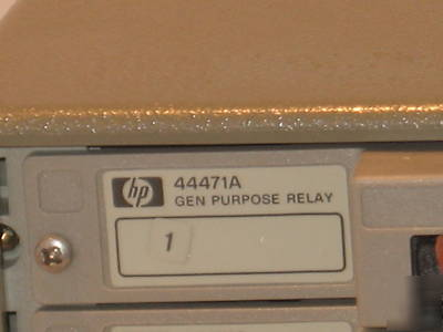 hp 3488a switch control unit with user manual tested rh chicagopartsnetwork com hp 3488a user manual hp 3468a manual