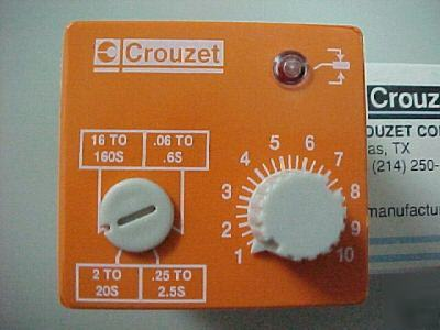 New crouzet pkrb timing time delay relay plug in