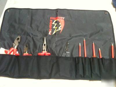 New salisbury 9 pc insulated tool set