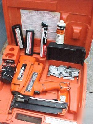 Paslode Impulse Im250 Type Ii Finish Nailer Case More