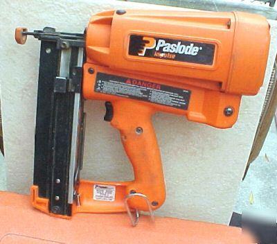 Paslode Impulse Im250 Type Ii Finish Nailer Case More