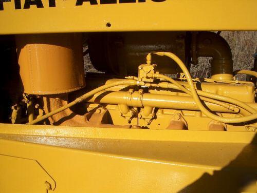 Fiat Allis 14c Parts : Fiat allis c dozer straight blade w tilt nice ready