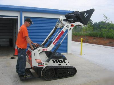 Mini Track Skid Steer Mt50 Walk Behind Bobcat