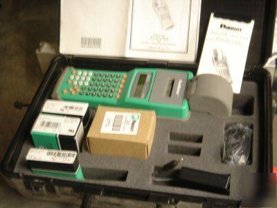 Panduit Ls3e Hand Held Wire Id Printer Kit W Hard Case