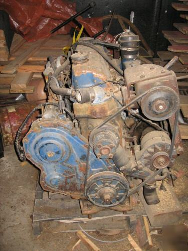 What Transmission Do I Have >> Ford 4 cyl industrial diesel engine , used , runs good