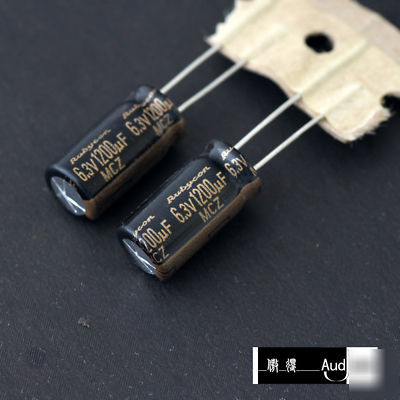 New 190pcs 1200uf 6 3v Rubycon Mcz Pc Capacitors
